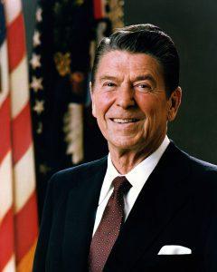 Ronald Reagan (bild från Wikipedia)